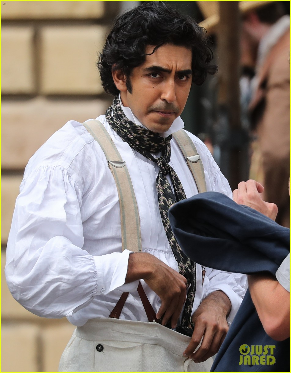 dev patel david copperfield filming set 24