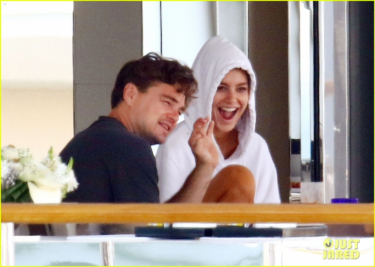 leonardo dicaprio relaxes on a yacht with camila morrone 184123202