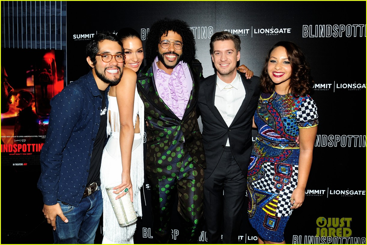 pdaveed diggs blindspotting cast get star support at nyc premiere 044115831