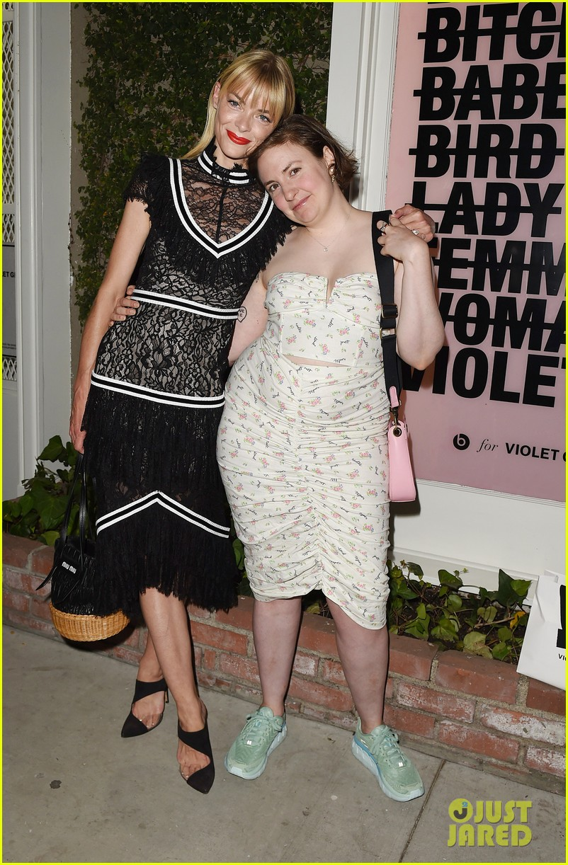lena dunham spends afternoon ex boyfriend jack antonoff 034113665