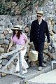 felicity jones charles guard hit the beach honeymoon 05