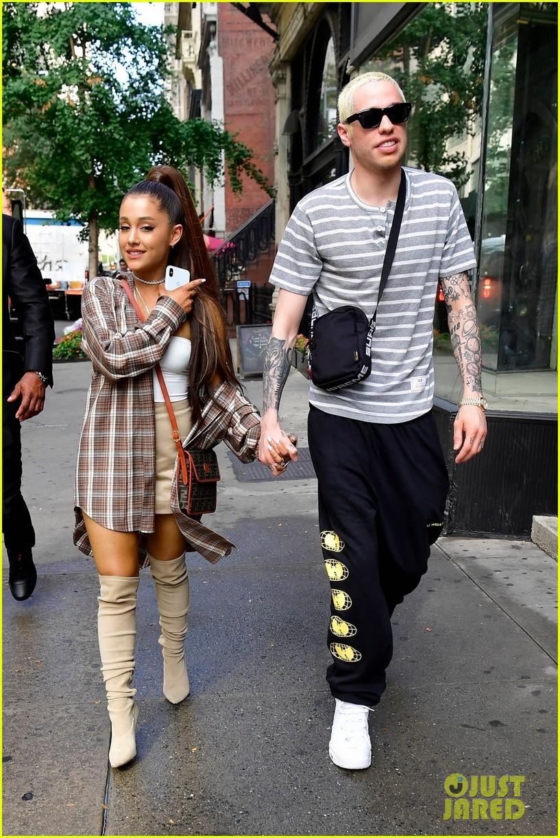 Ariana Grande & Pete Davidson Look So Happy Together in ...