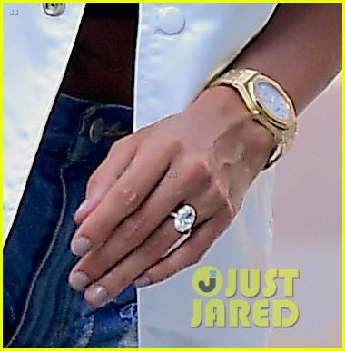 hailey baldwin justin bieber nyc engagement ring july 2018 004112632