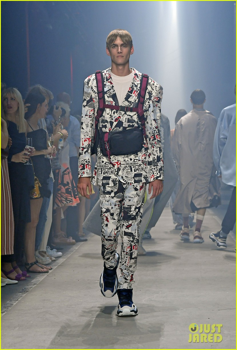 wiz khalifa winnie harlow buddy up at hugo springsummer fashion show 334111305