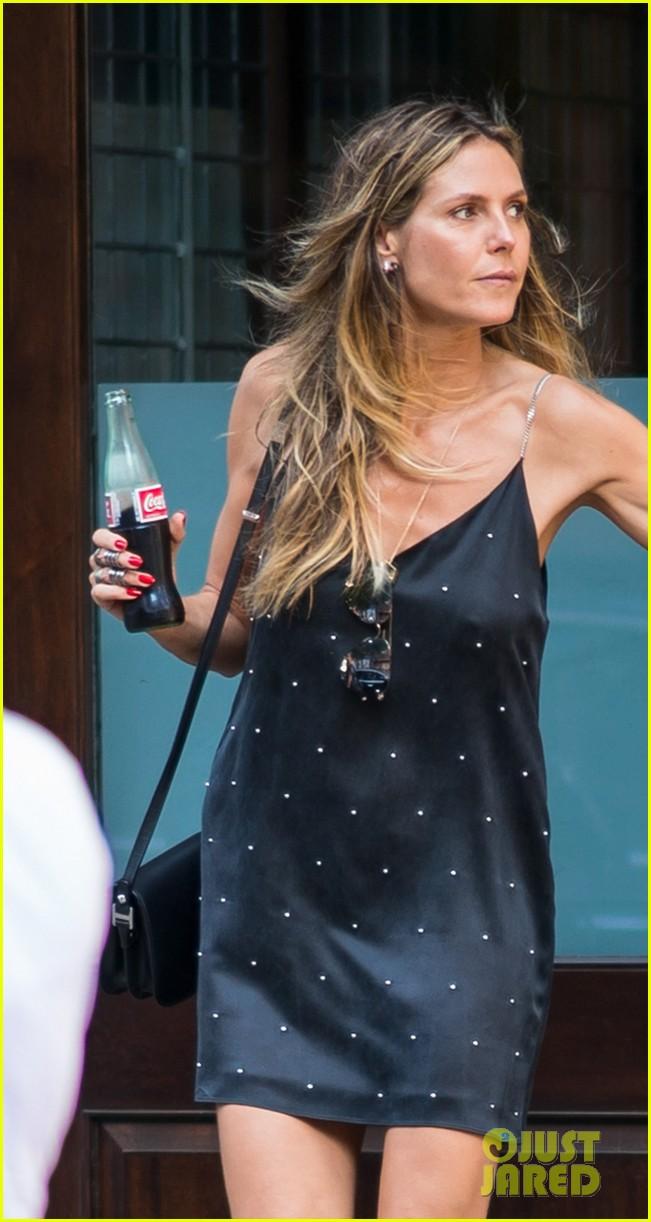 Heidi Klum Picks Up Daughter Lou With Boyfriend Tom Kaulitz In New