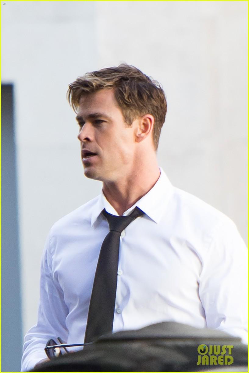 Chris Hemsworth Begins Filming Men In Black 4 First