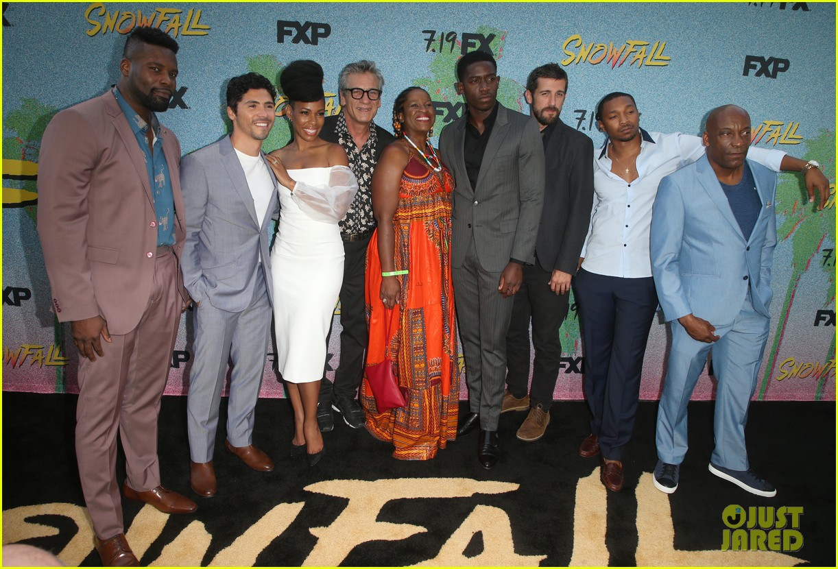 Damson Idris Amp Snowfall Cast Celebrate Season 2 Premiere