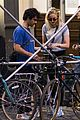 joe jonas sophie turner bike ride 09