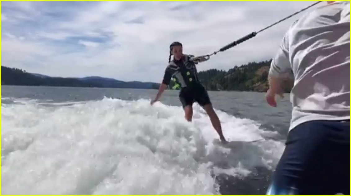 kim kardashian july 4 wakeboarding 034110855