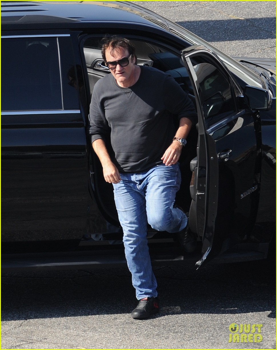 leonardo dicaprio once upon a time in hollywood set 2018 184121597