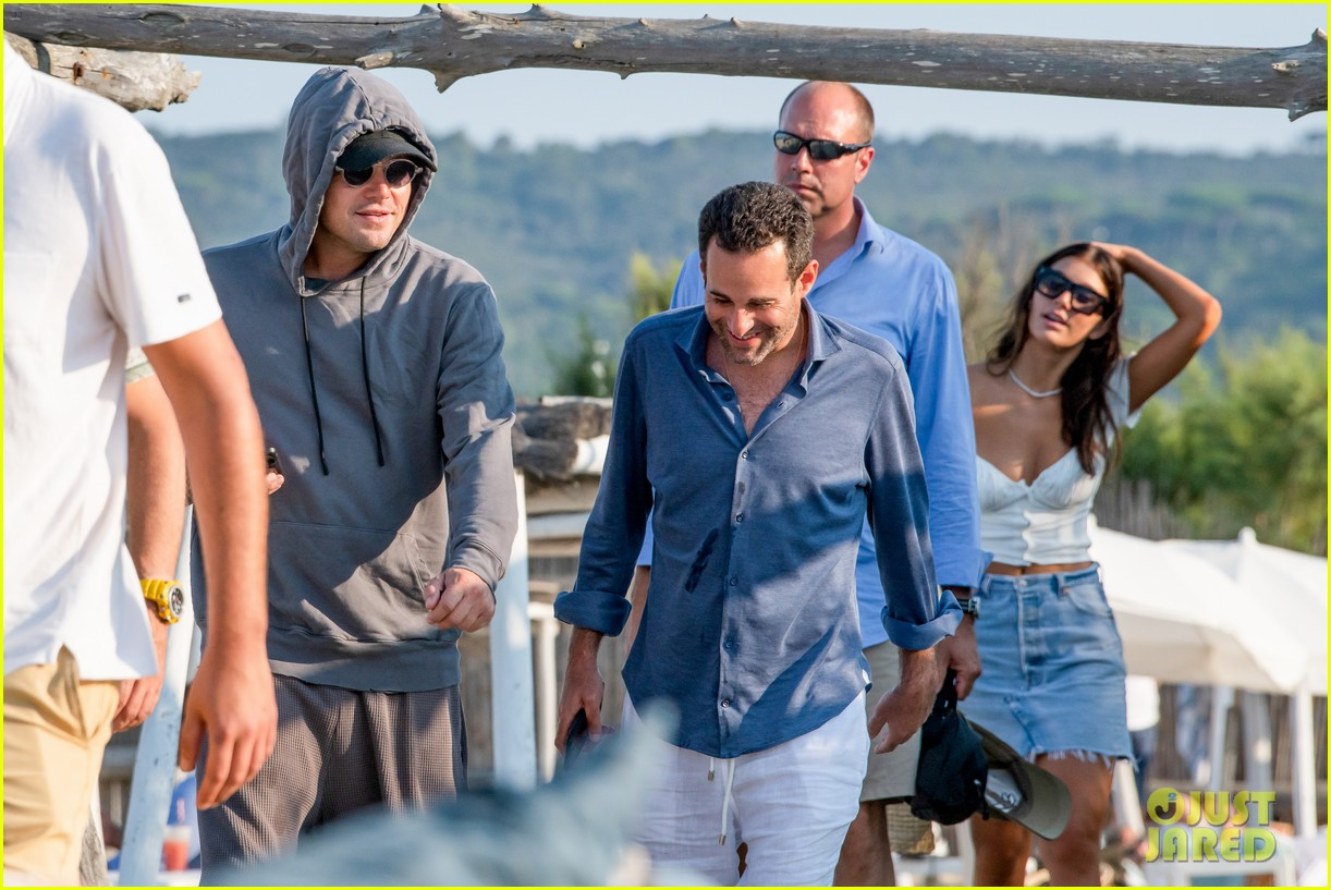 Leonardo Dicaprio Goes Incognito In Saint Tropez With Camila