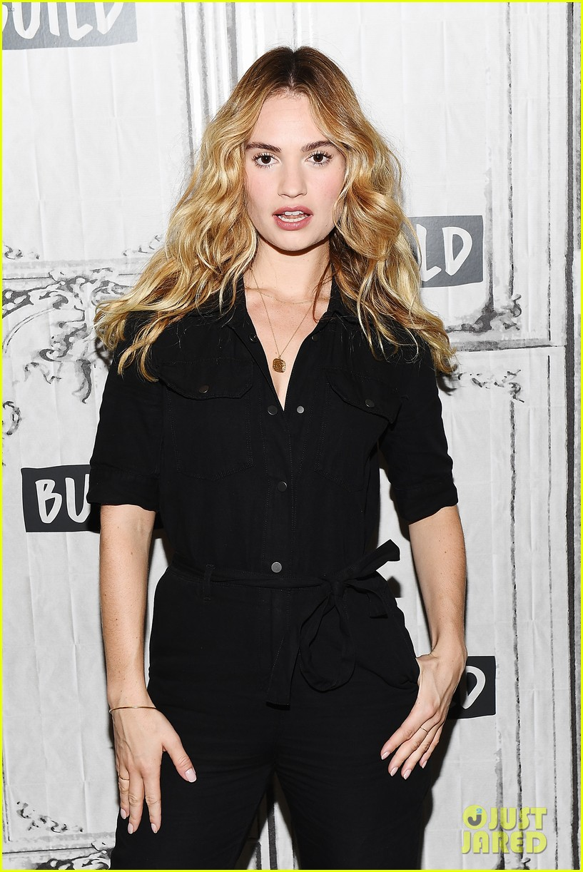 lily james amanda seyfried build interview 064117137