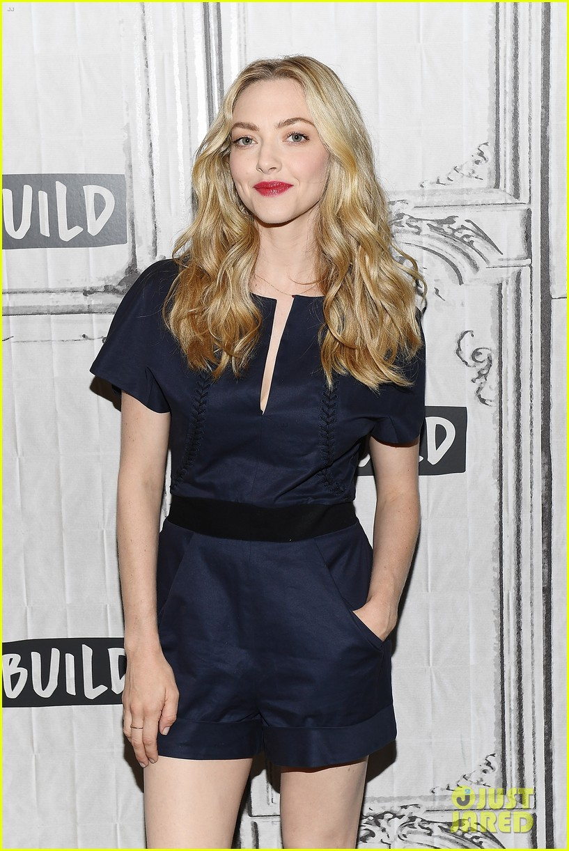 lily james amanda seyfried build interview 074117138