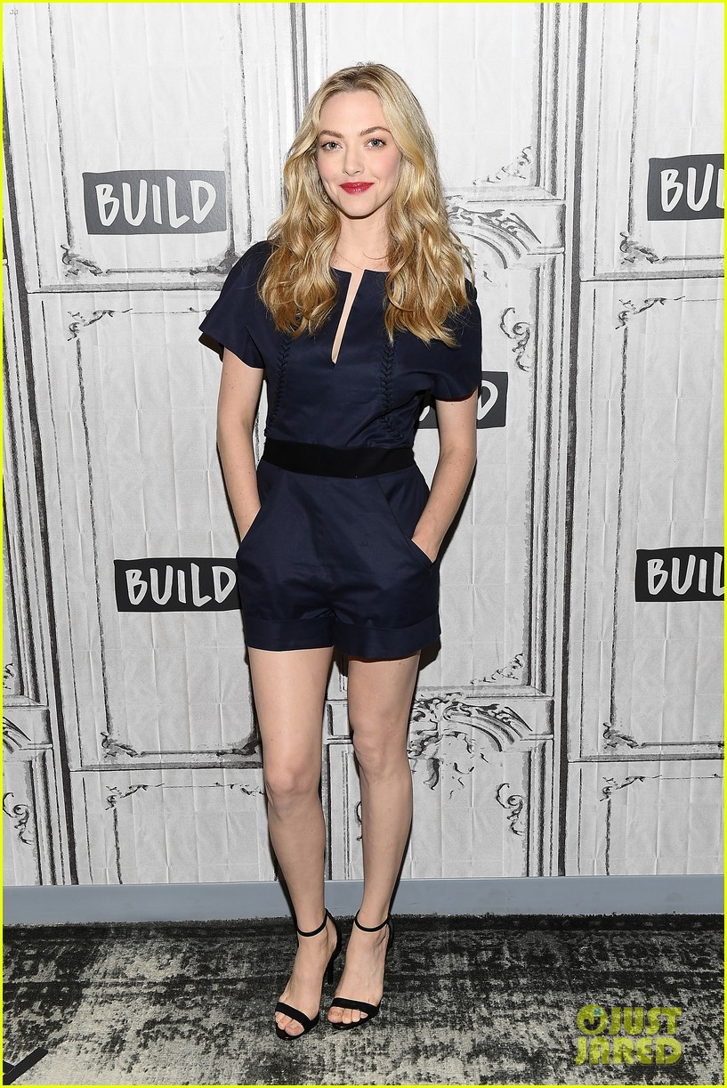 lily james amanda seyfried build interview 084117139