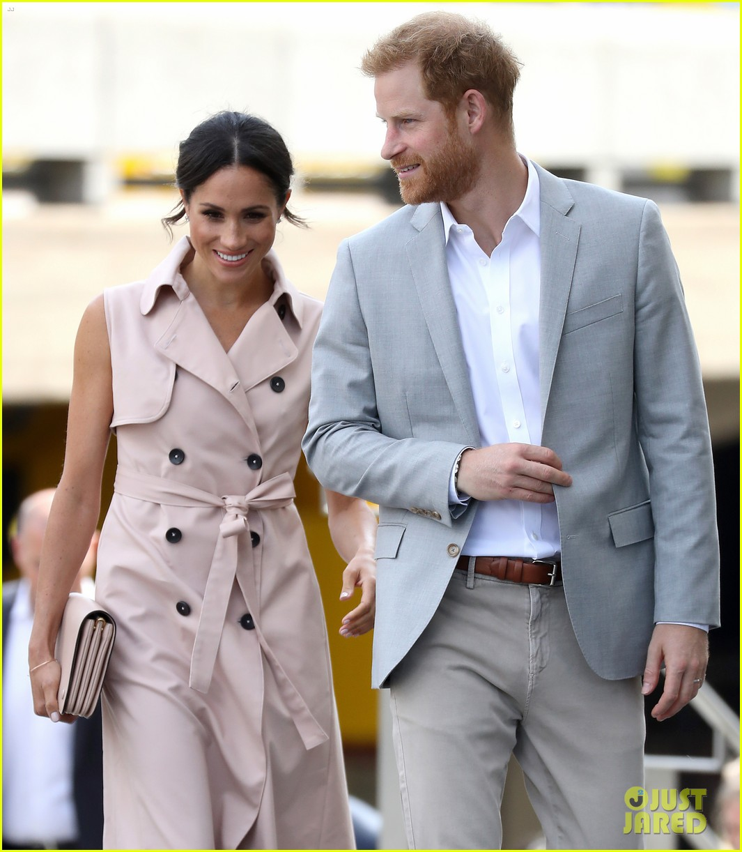Duchess Meghan Markle Is Summer Chic For Royal Visit With