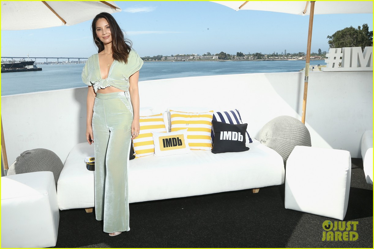Olivia Munn & \'Predator\' Cast Tease Movie at Comic-Con 2018!: Photo ...