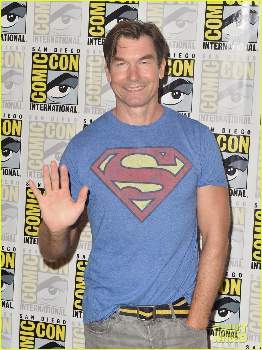 jerry oconnell rebecca romijn comic con death of superman 13