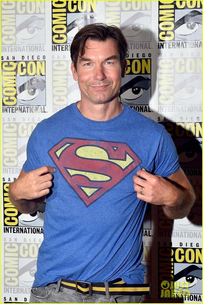 jerry oconnell rebecca romijn comic con death of superman 14