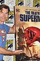 jerry oconnell rebecca romijn comic con death of superman 02