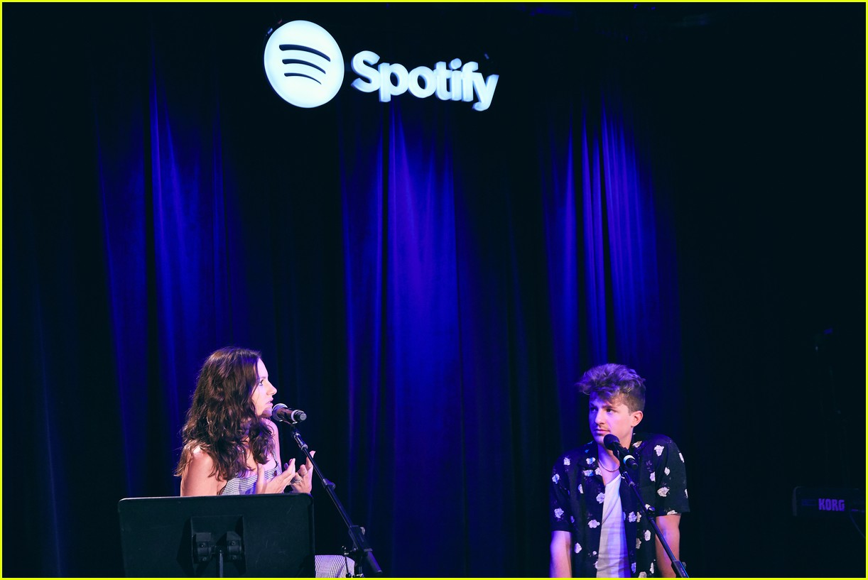 charlie puth returns to his college for spotify voicenotes event 064114142