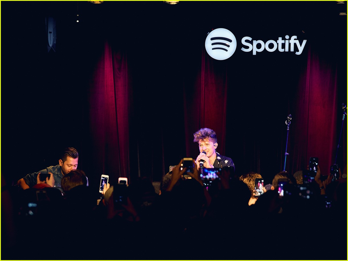 charlie puth returns to his college for spotify voicenotes event 134114149