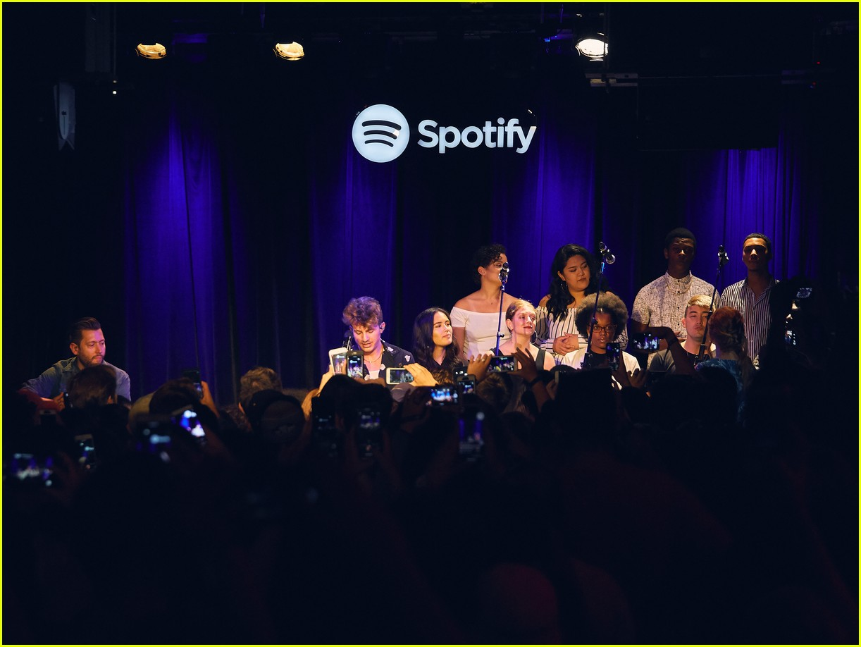 charlie puth returns to his college for spotify voicenotes event 194114155
