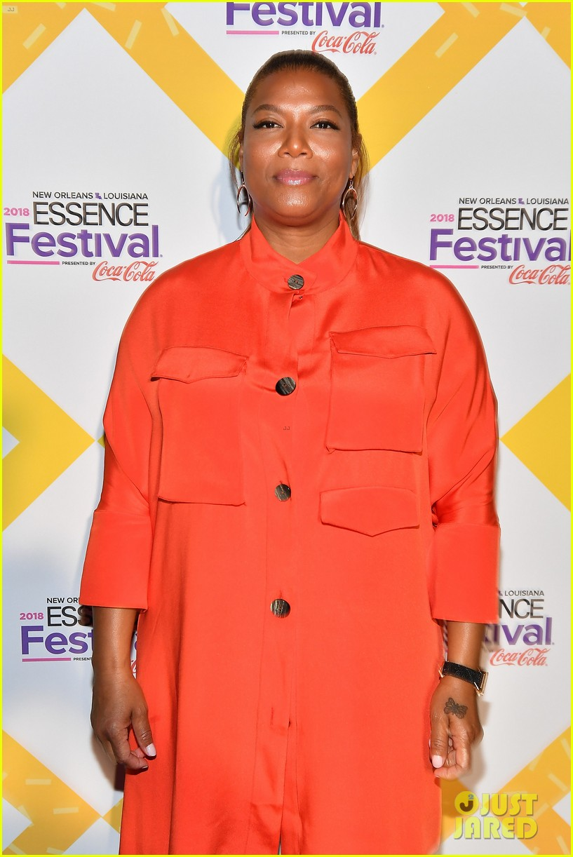 queen latifah kicks off essence fest 074111369