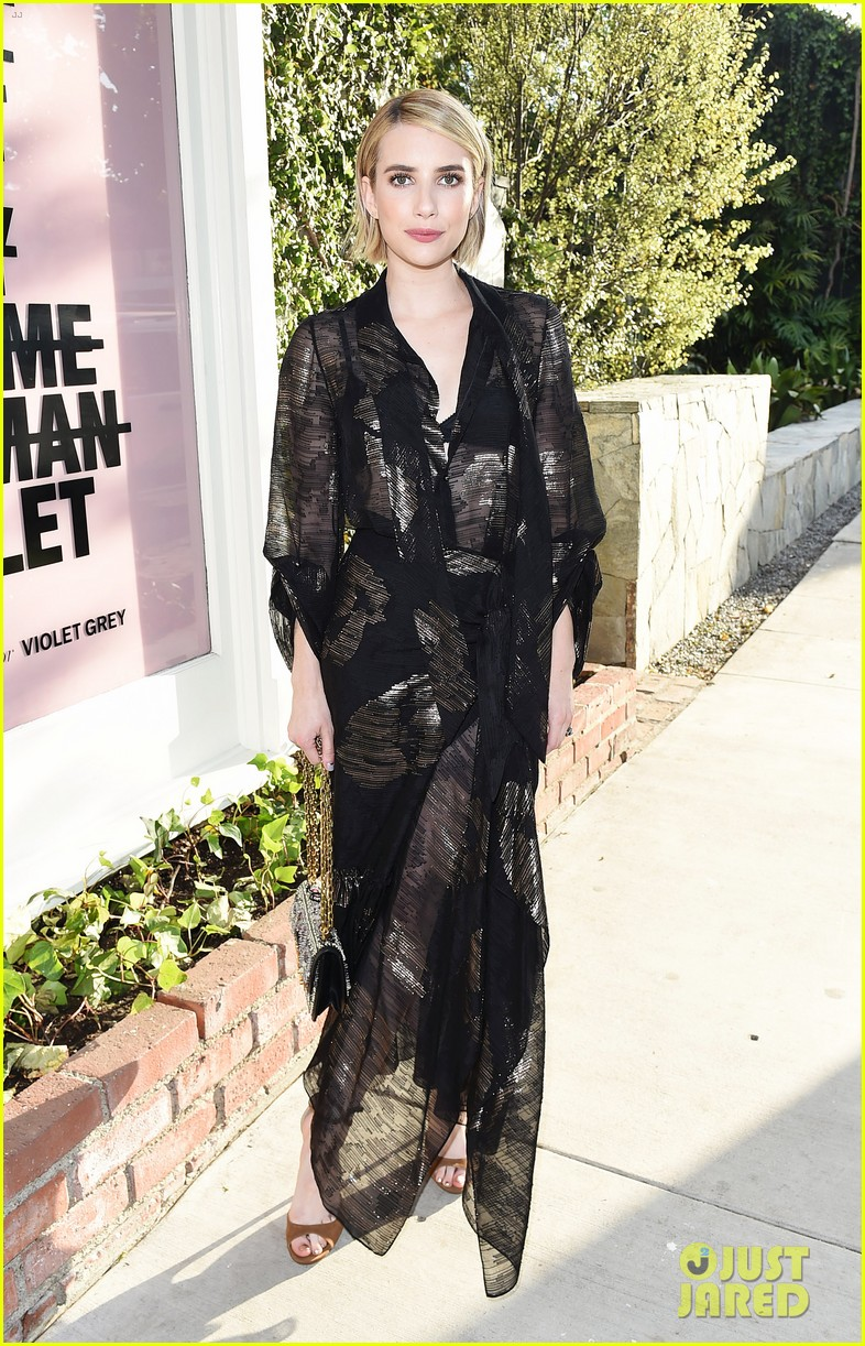 emma roberts january jones jaime king celebrate beats by dre for violet grey launch 024113458