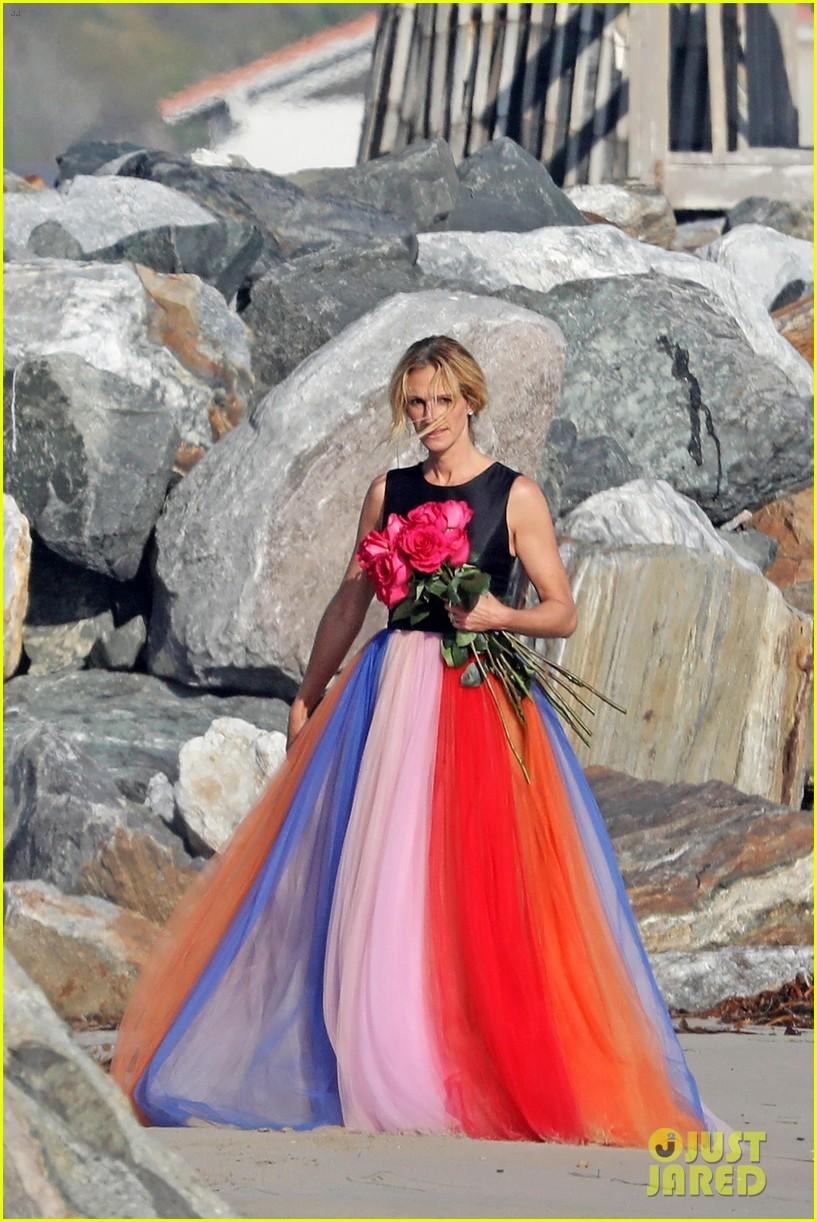 julia roberts stuns in rainbow tulle skirt for photo shoot in malibu 014117647
