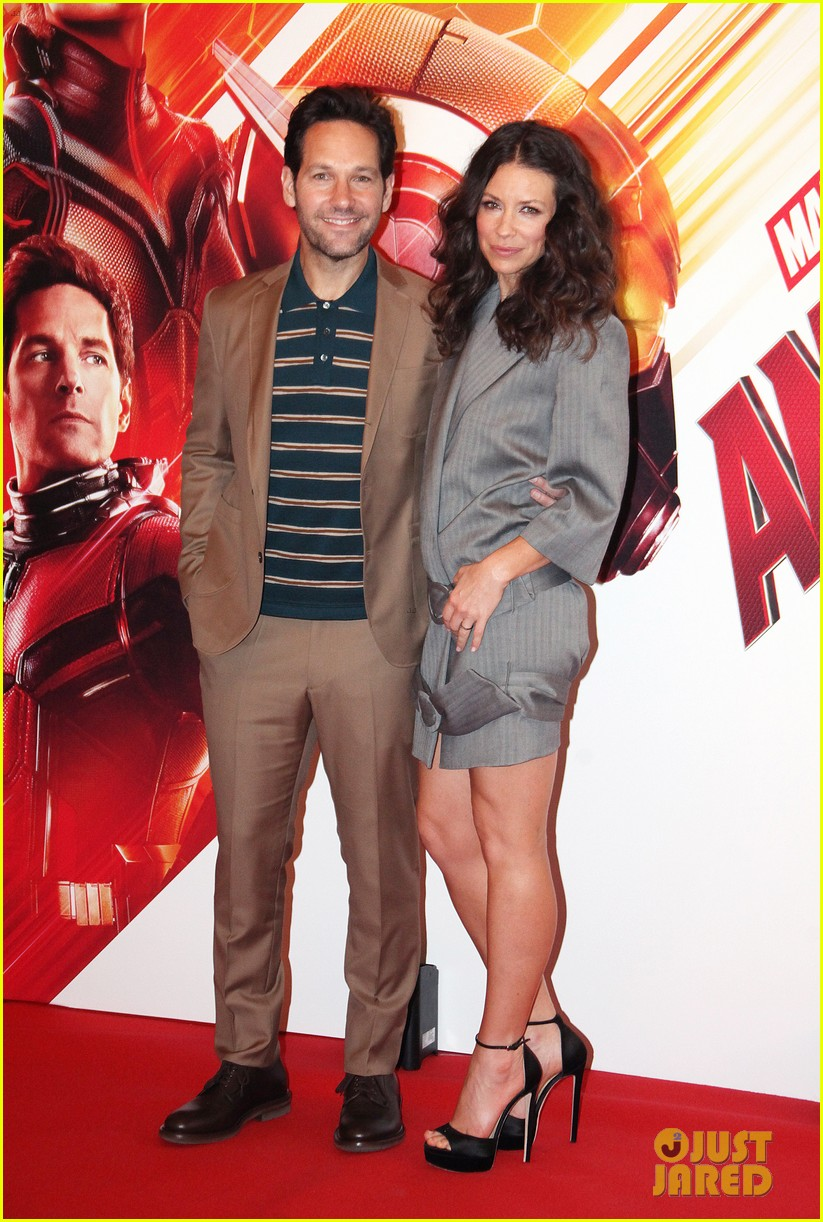 paul rudd evangeline lilly bring ant man and the wasp to rome 074116553