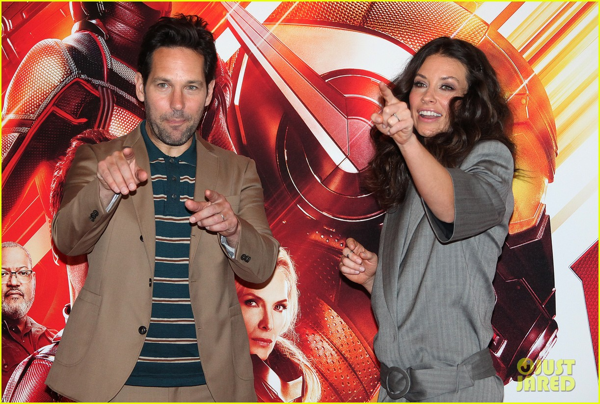 paul rudd evangeline lilly bring ant man and the wasp to rome 134116559