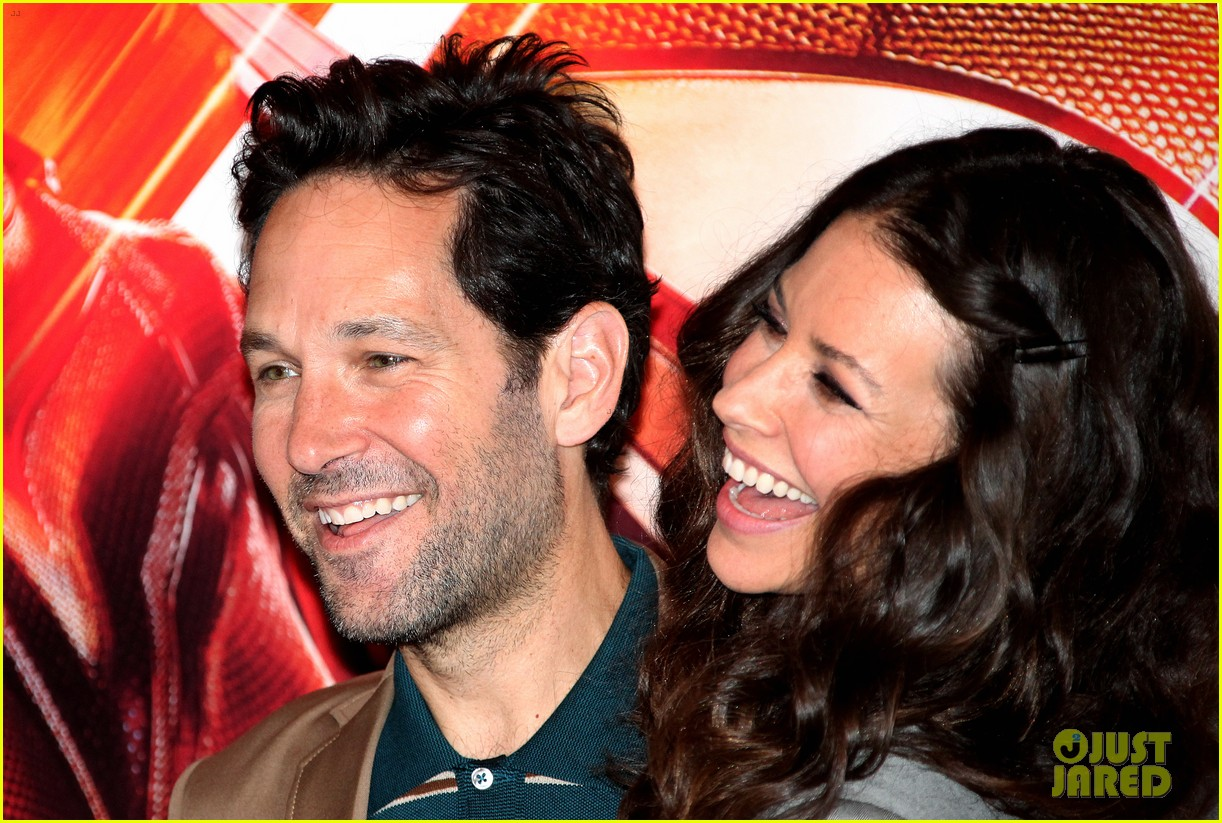 paul rudd evangeline lilly bring ant man and the wasp to rome 144116560