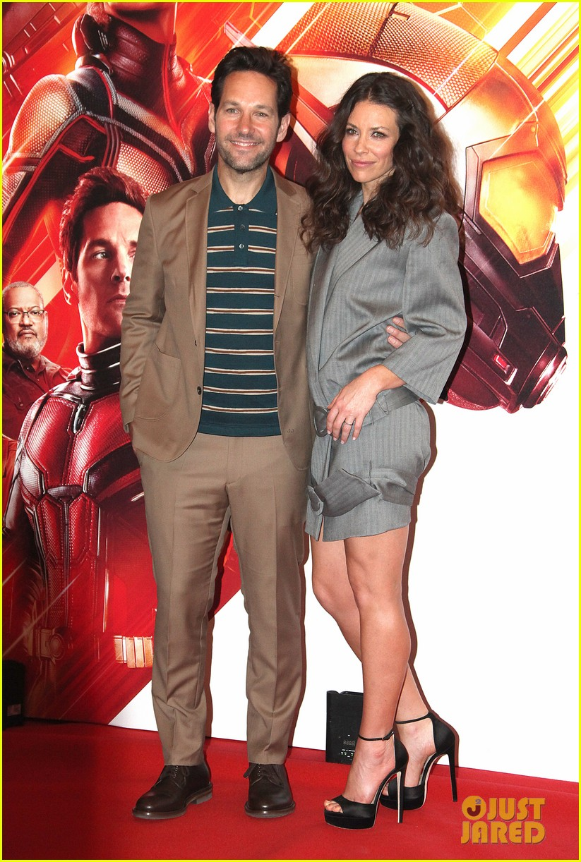 paul rudd evangeline lilly bring ant man and the wasp to rome 154116561