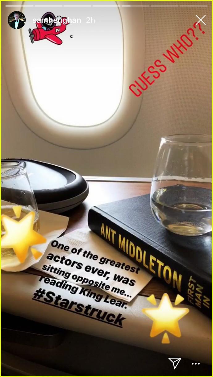 sam heughan al pacino airplane 014122340
