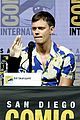 bill skarsgard suki waterhouse bring assassination nation to comic con 2018 17