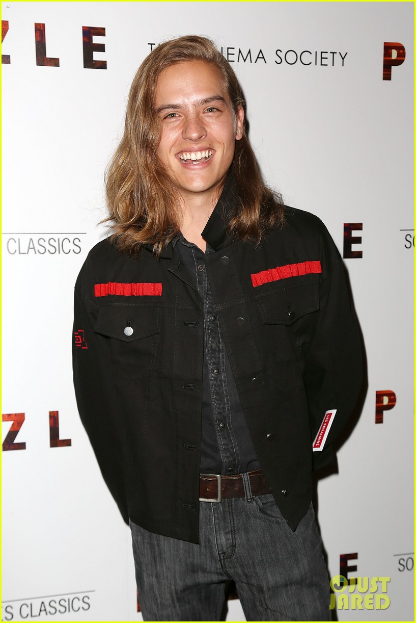 dylan sprouse barbara palvin puzzle screening 084120177