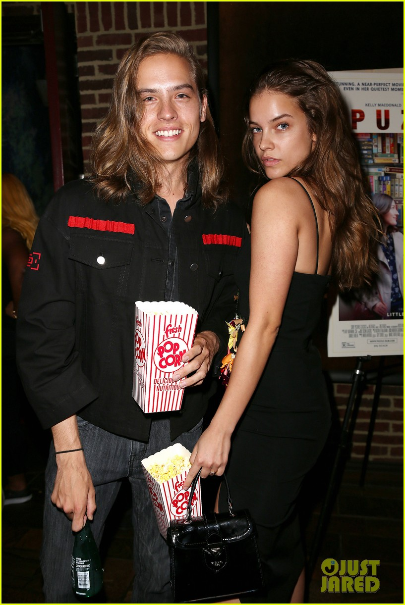 dylan sprouse barbara palvin puzzle screening 144120183