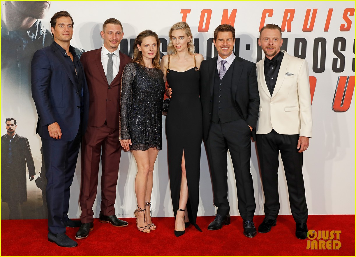 Tom Cruise & Henry Cavill Premiere 'Mission: Impossible