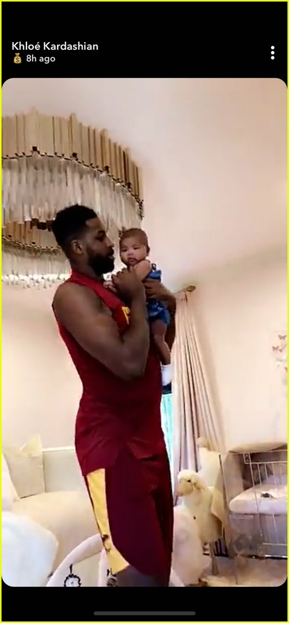 tristan thompson true dancing snapchat july 2018 024113171
