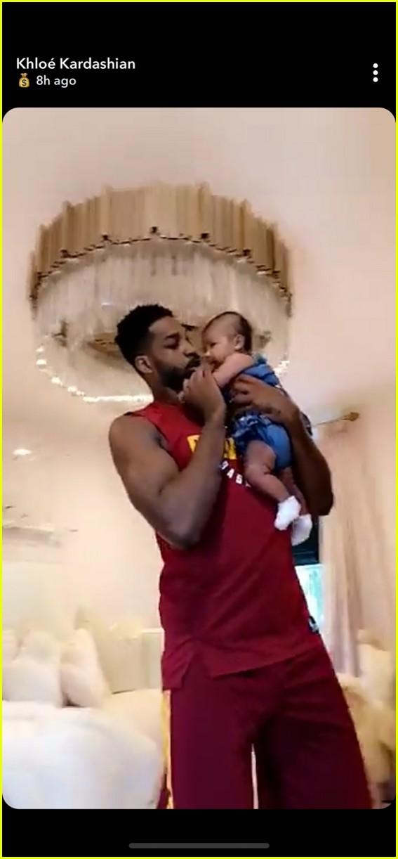 tristan thompson true dancing snapchat july 2018 044113173