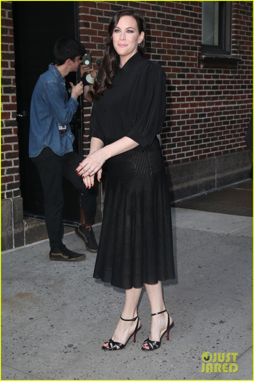 liv tyler promotes harlots season two in nyc 014113804