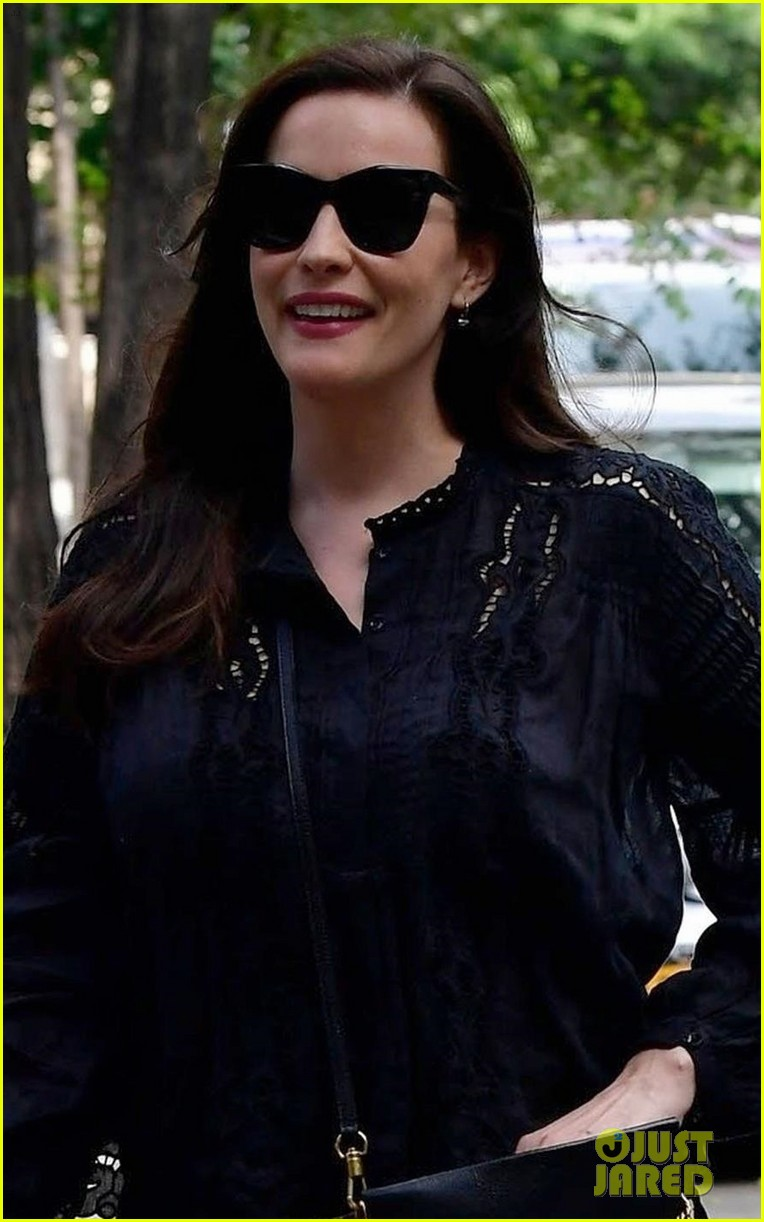 liv tyler promotes harlots season two in nyc 024113805