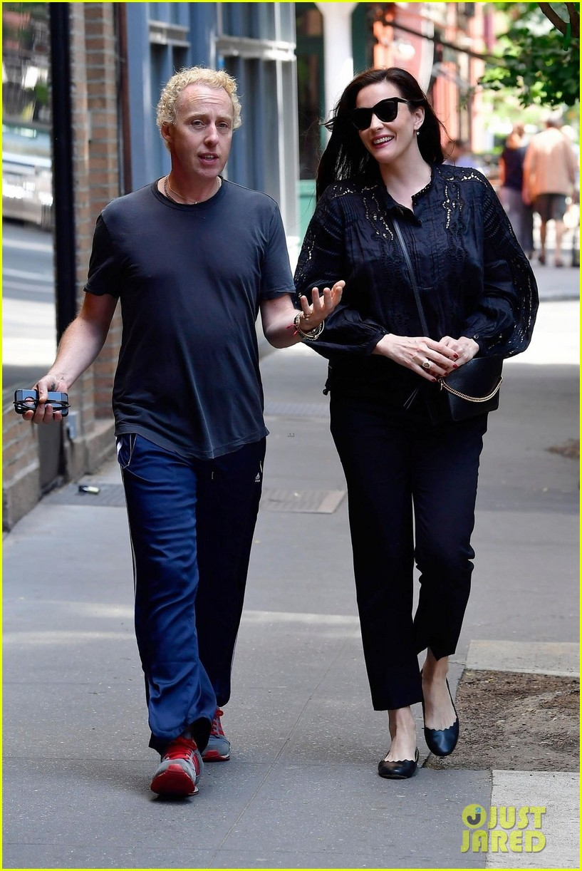 liv tyler promotes harlots season two in nyc 034113806