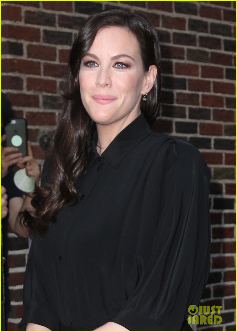 liv tyler promotes harlots season two in nyc 044113807