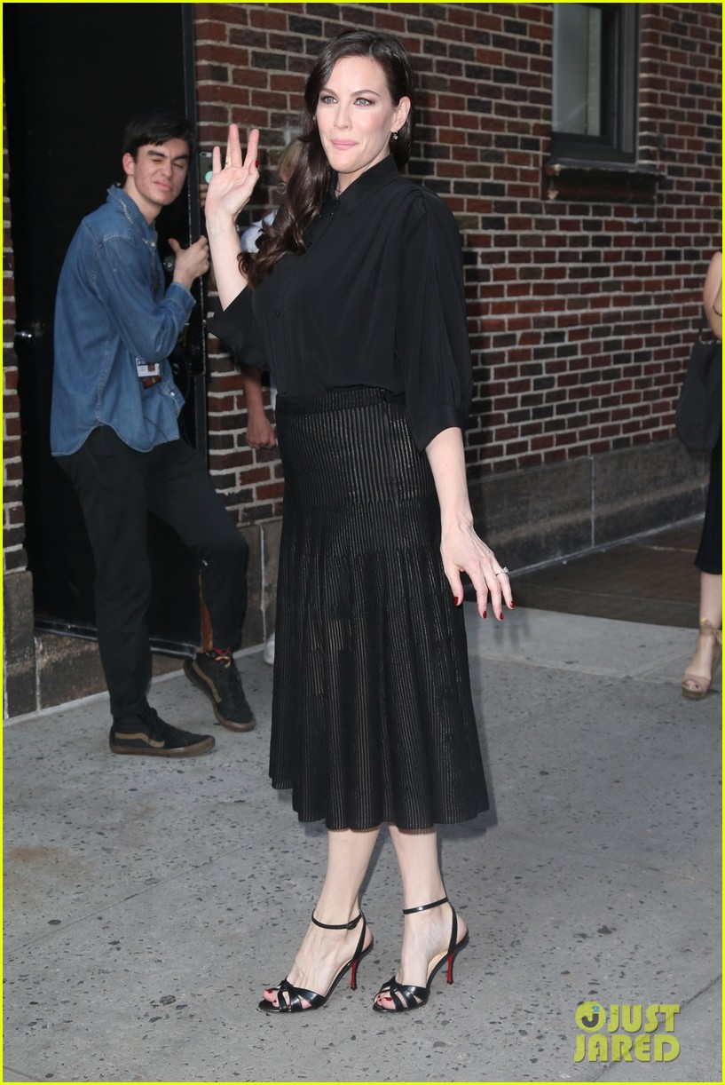 liv tyler promotes harlots season two in nyc 054113808
