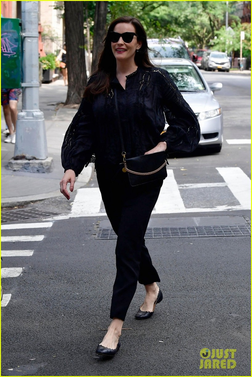 liv tyler promotes harlots season two in nyc 064113809