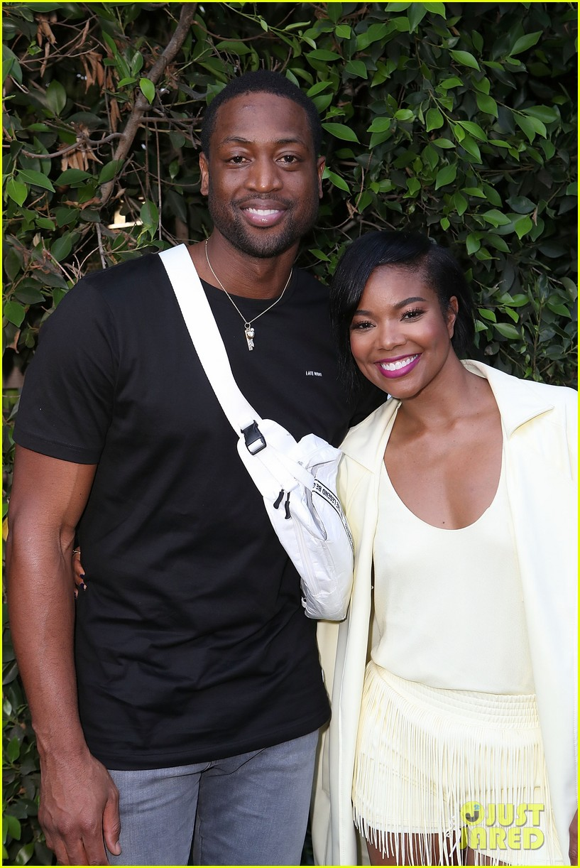 gabrielle union dwyane wade host hallmarks put it into words launch party 024123074
