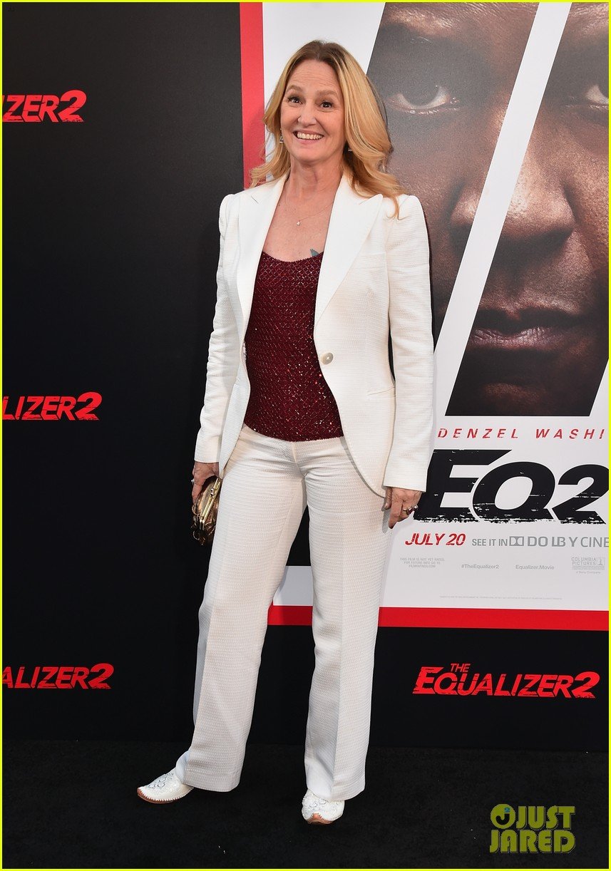 denzel washington ashton sanders get star support at equalizer 2 hollywood premiere 124116174