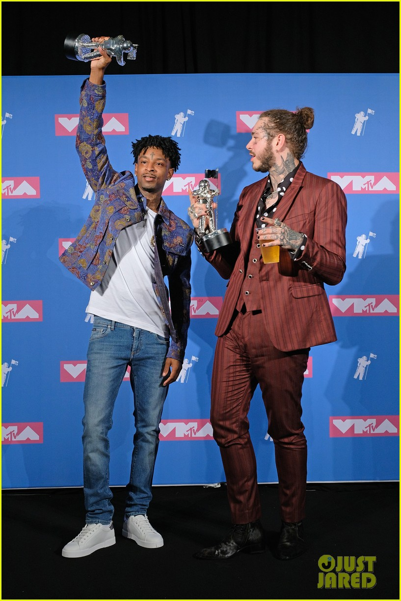aerosmith post malone 21 savage mtv vmas performance 174132280