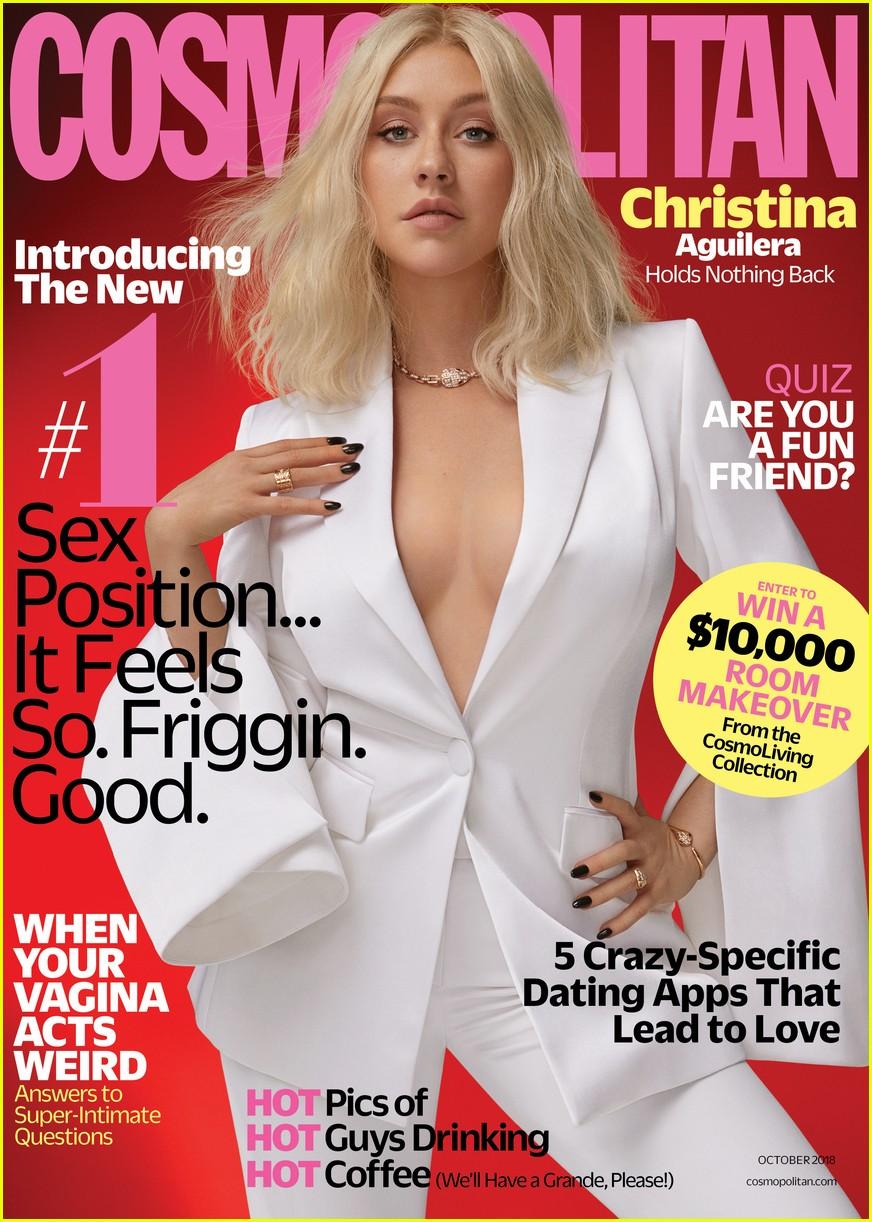 christina aguilera cosmopolitan october 024135257